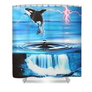 'pure Water Systems' Shower Curtain by Christian Chapman Art