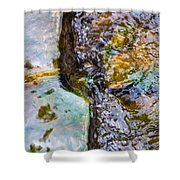 Purl Of A Brook 2 - Featured 3 Shower Curtain by Alexander Senin