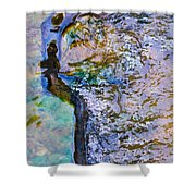 Purl Of A Brook 3 - Featured 3 Shower Curtain by Alexander Senin