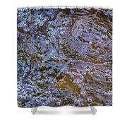 Purl Of A Brook Shower Curtain by Alexander Senin
