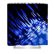 Purple Rain Shower Curtain by Dazzle Zazz