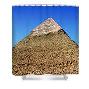 Pyramids Of Giza 15 Shower Curtain by Antony McAulay