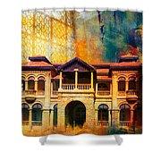 Quaid -e Azam House Flag Staff House Shower Curtain by Catf