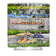 Racing Dreams Shower Curtain by David Lee Thompson
