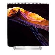 Rainbow Canyon Shower Curtain by Chad Dutson