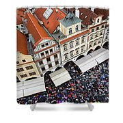 Rainy Day In Prague-2 Shower Curtain by Diane Macdonald