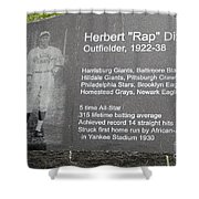 Rap Dixon Shower Curtain by Paul W Faust -  Impressions of Light