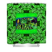 Rattlesnake Abstract Window 20130204p75 Shower Curtain by Wingsdomain Art and Photography