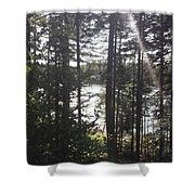 Ray O Light Shower Curtain by Melissa McCrann
