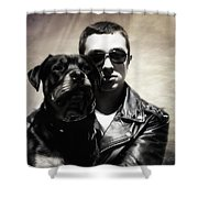 Rays Of Hope Best Friends Shower Curtain by Jacque The Muse Photography