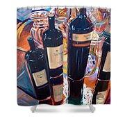 Raymond Vineyards Crystal Cellar Shower Curtain by Donna Tuten