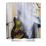 Really Hard Rock - Featured 3 Shower Curtain by Alexander Senin