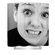 Really? Shower Curtain by Jacqueline Athmann