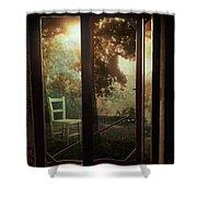 Rear Window Shower Curtain by Taylan Soyturk