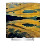 Reflect Shower Curtain by Benjamin Yeager