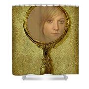 Reflection Shower Curtain by Amanda Elwell