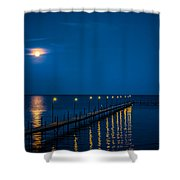 Reflections On Milacs Shower Curtain by Paul Freidlund
