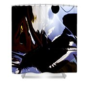 Reflections  Shower Curtain by Paul Job