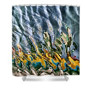 Reflections Shower Curtain by Stelios Kleanthous