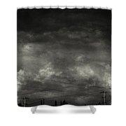 Refraction Shower Curtain by Taylan Apukovska