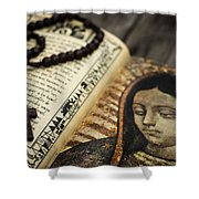 Religious Concept Shower Curtain by Aged Pixel