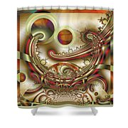 Rem Sleep Shower Curtain by Wendy J St Christopher