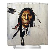 Remember Shower Curtain by J W Baker