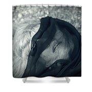Respiro Shower Curtain by Taylan Apukovska