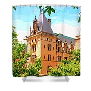 Revival Biltmore Asheville Nc Shower Curtain by William Dey