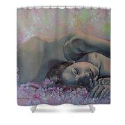 Revival Shower Curtain by Dorina  Costras