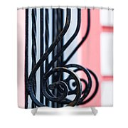 Rhythm Of Architecture - Vertical Format Shower Curtain by Alexander Senin