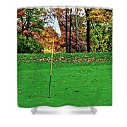 Ridgewood Golf And Country Club Shower Curtain by Frozen in Time Fine Art Photography