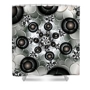 Rising Up Shower Curtain by Gabiw Art