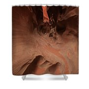 River Of Sandstone Shower Curtain by Adam Jewell