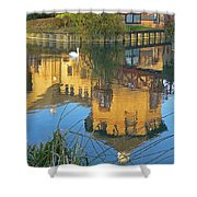 Riverside Homes Reflections Shower Curtain by Gill Billington