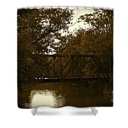 Riveting Bridge Shower Curtain by Customikes Fun Photography and Film Aka K Mikael Wallin