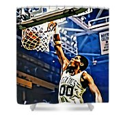 Robert Parish  Shower Curtain by Florian Rodarte