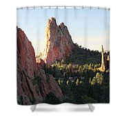 Rock Of Ages Shower Curtain by Eric Glaser