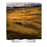 Rolling Hills Shower Curtain by Robert Bales