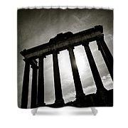 Roman Forum Shower Curtain by Dave Bowman