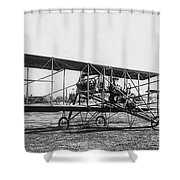 Romance Of Flight C. 1905 Shower Curtain by Daniel Hagerman