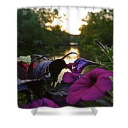 Romantic River View Shower Curtain by Customikes Fun Photography and Film Aka K Mikael Wallin