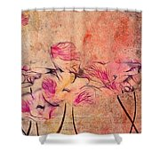 Romantiquite - 44bt22 Shower Curtain by Variance Collections