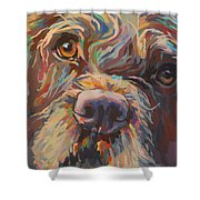 Rory Shower Curtain by Kimberly Santini