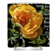 Roses Have Thorns Shower Curtain by Janice Rae Pariza