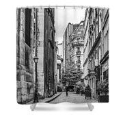 Route Parisian Shower Curtain by Georgia Fowler