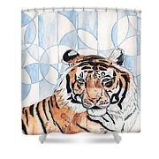 Royal Mysticism  Shower Curtain by Crystal Hubbard