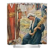 Ruth Shower Curtain by Harold Copping