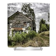 Saddle Store 3 Of 3 Shower Curtain by Jason Politte