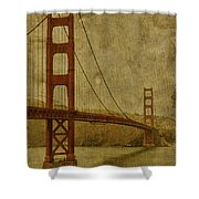 Safe Passage Shower Curtain by Andrew Paranavitana